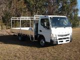2019  Fuso Canter 515 Wide Cab Duonic Alloy Tray  (White) New Vehicle Thumbnail 3