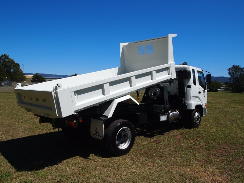 2019  Fuso Fighter 1124 Factory  Tipper (White) New Vehicle  Large Picture 9