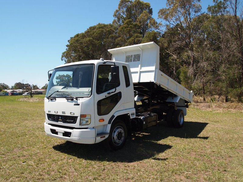 2019  Fuso Fighter 1124 Factory  Tipper (White) New Vehicle  Large Picture 1
