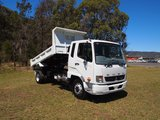 2019  Fuso Fighter 1124 Factory  Tipper (White) New Vehicle Thumbnail 3