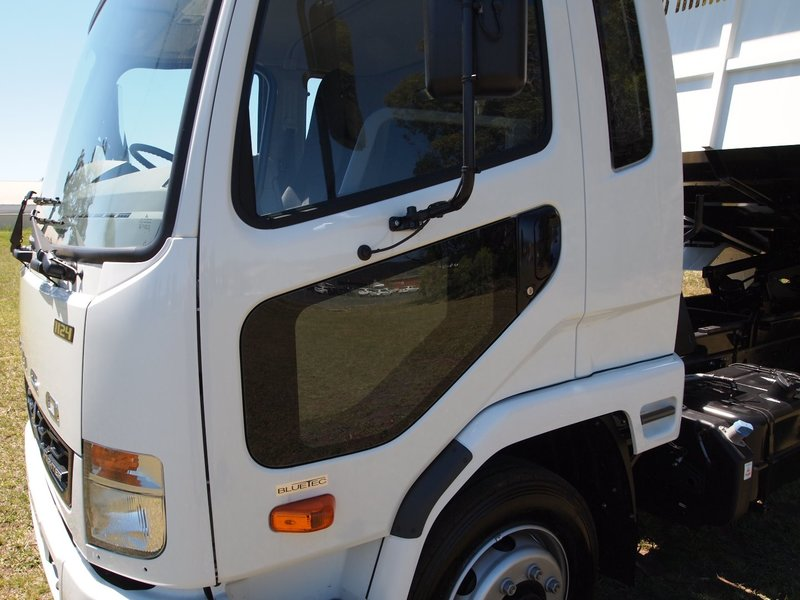 2019  Fuso Fighter 1124 Factory  Tipper (White) New Vehicle  Large Picture 11